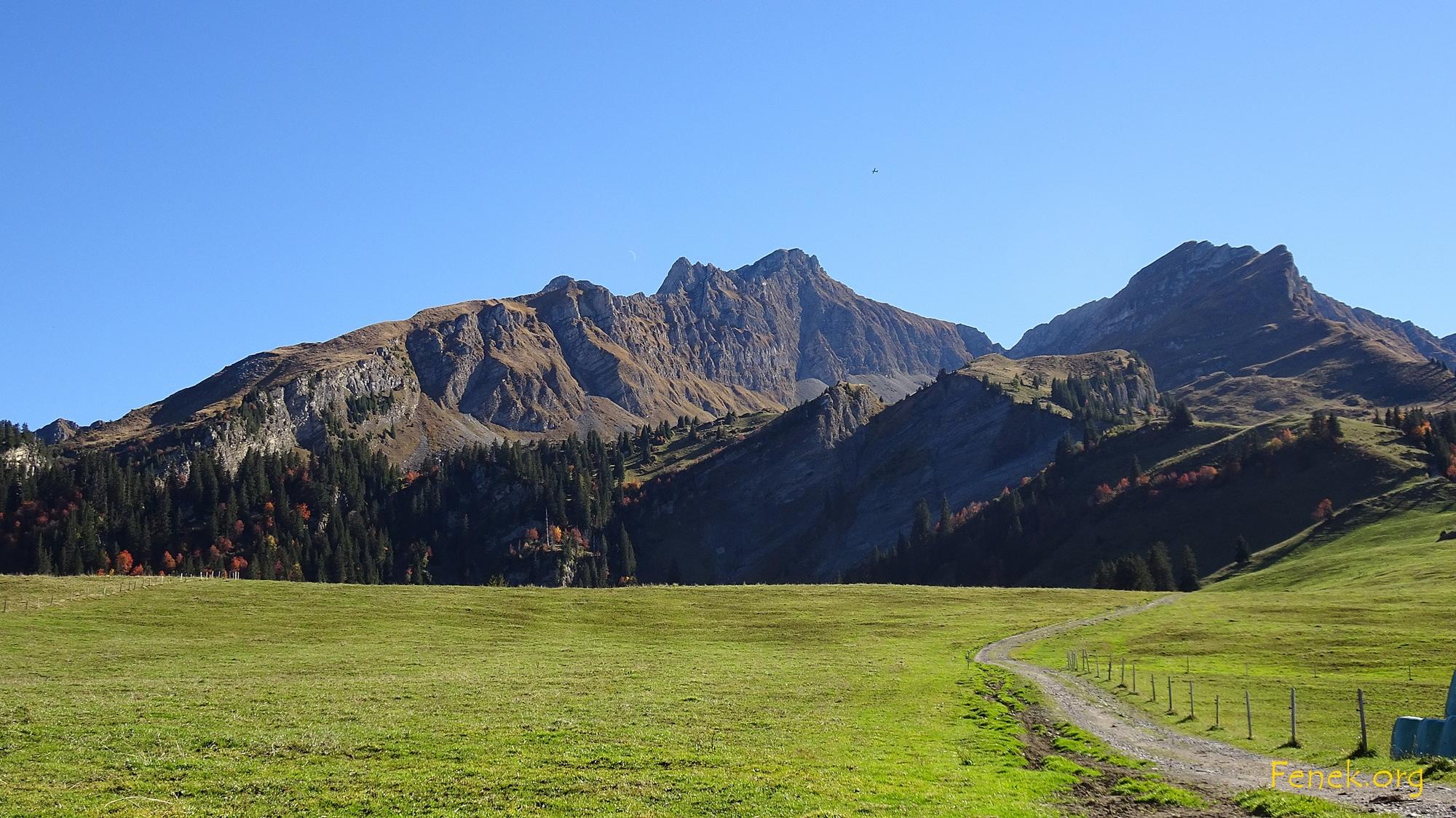 """zurück im """"grünen Bereich"""" - Nordgrat mit l'Aiguille und Le Tarent"""