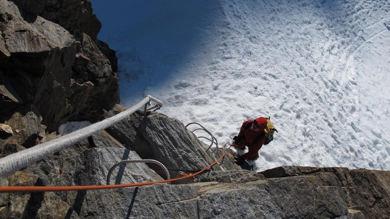 Klettern....zum Glück