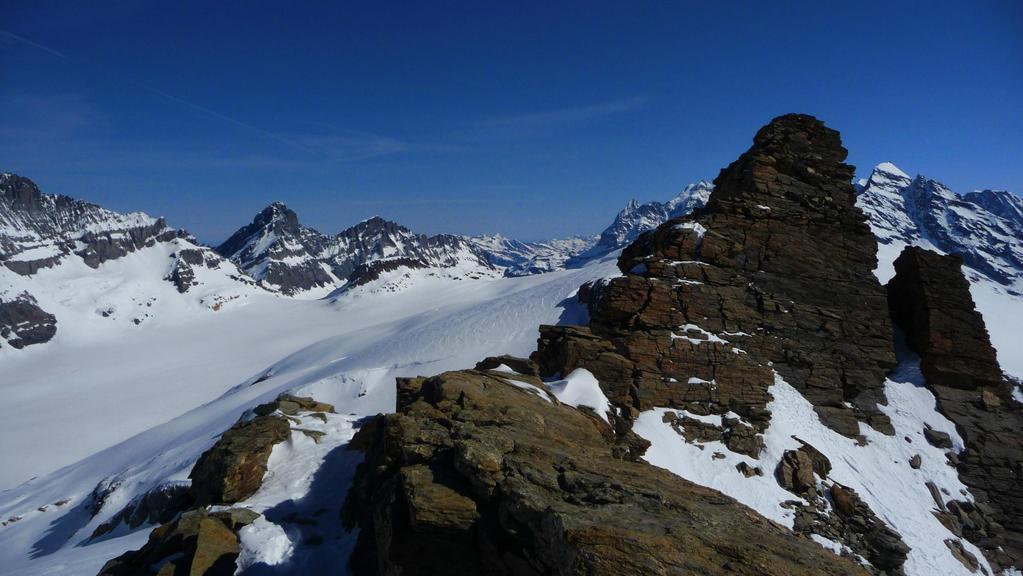 der Gipfel vom Birghorn 3'242m