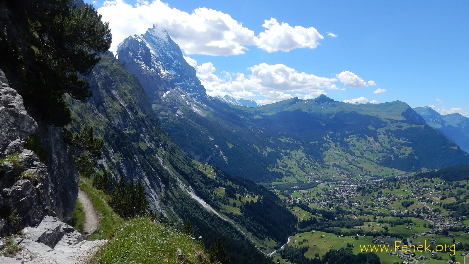 Grindelwald und Eiger...