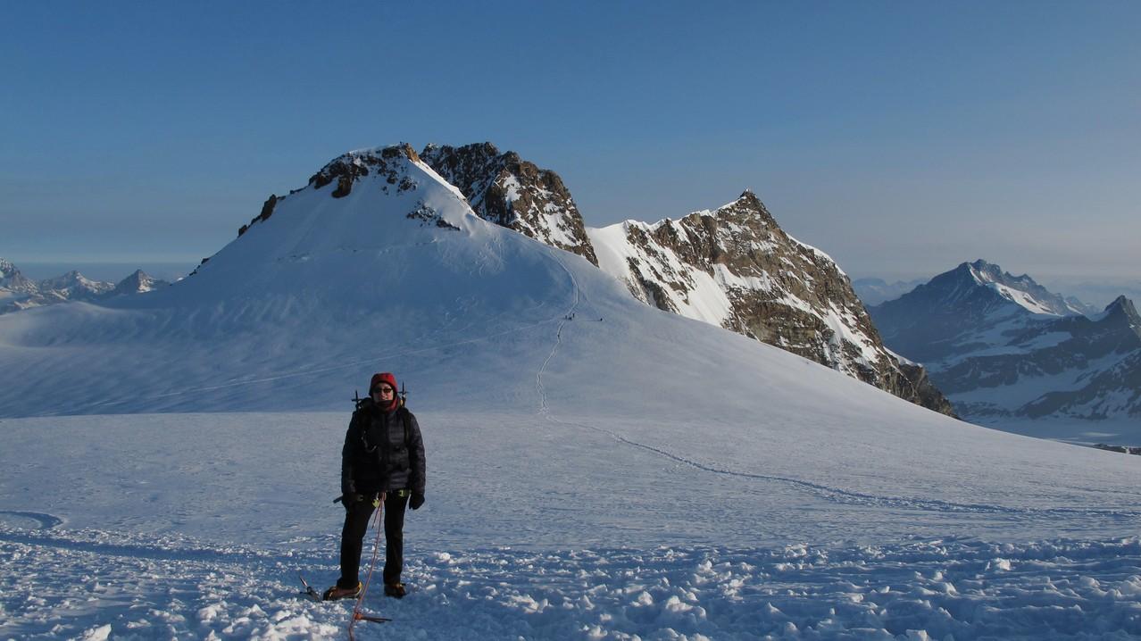 Zumsteinspitze und Dufourspitze