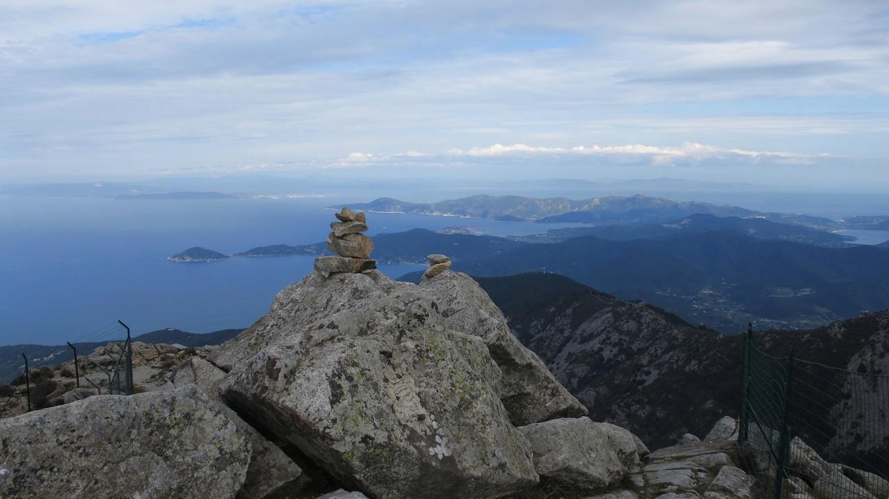 Gipfelpanorama Monte Capanne