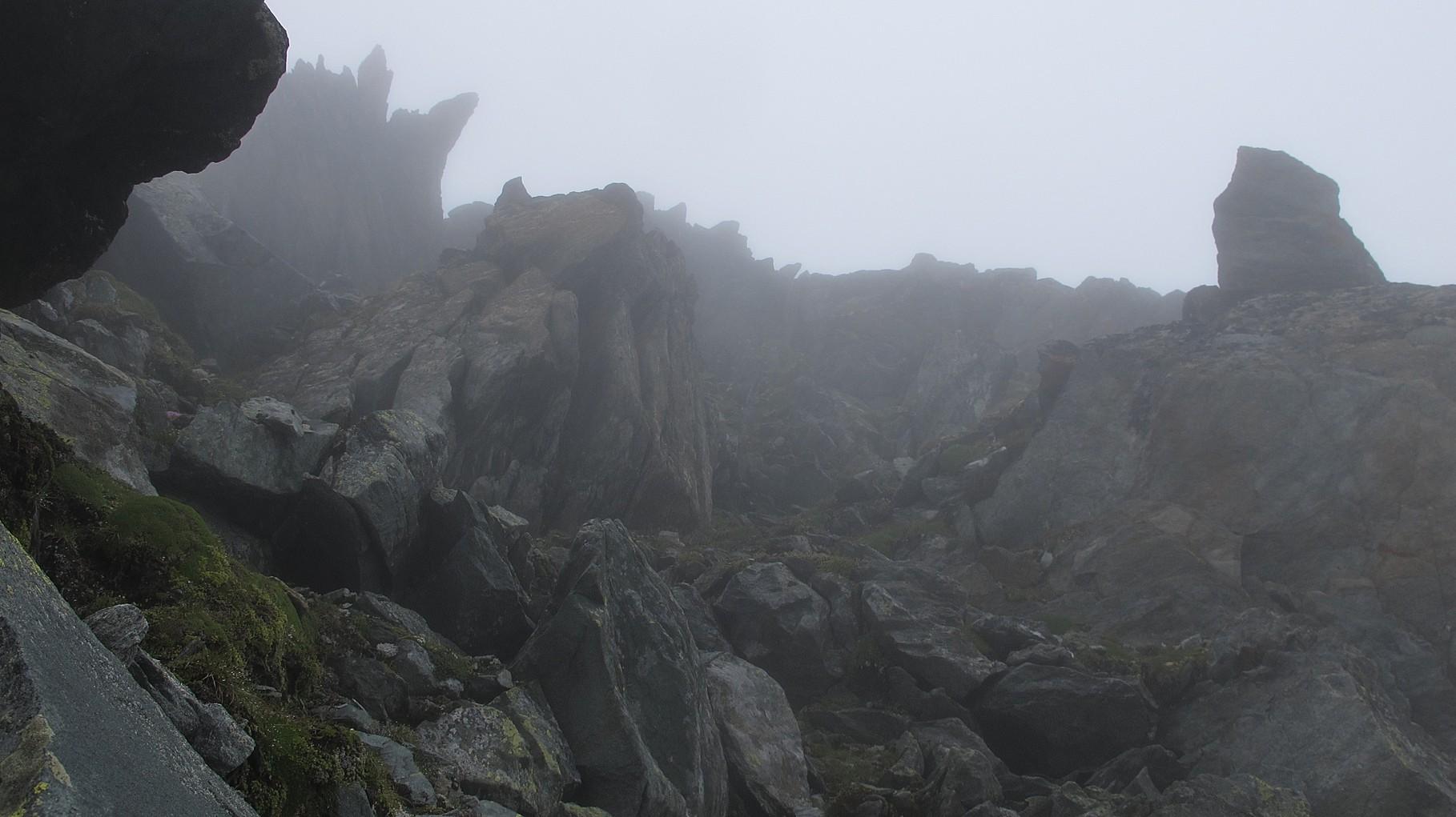 Kraxelgelände am Beaufort