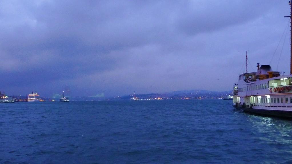 am Hafen.....