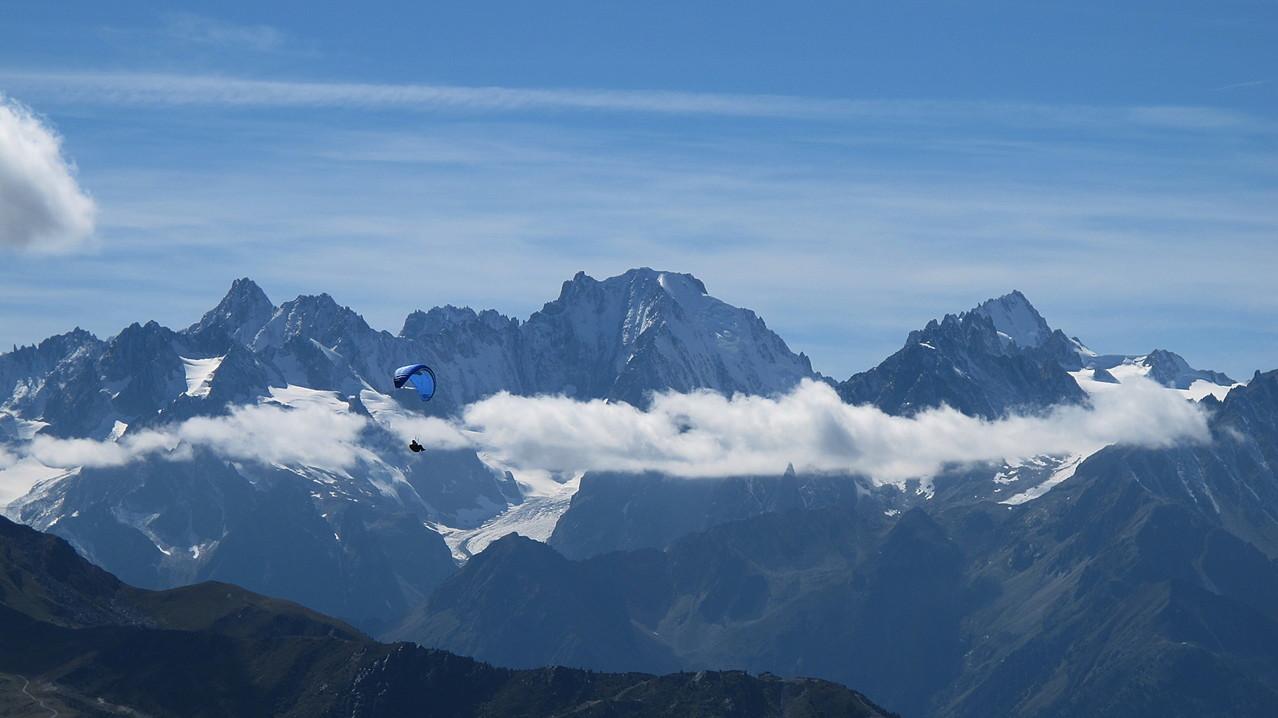 Mont Blanc Gebiet
