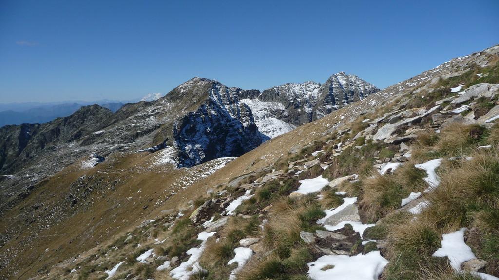 Blick zurück zur Cima d'Erbea