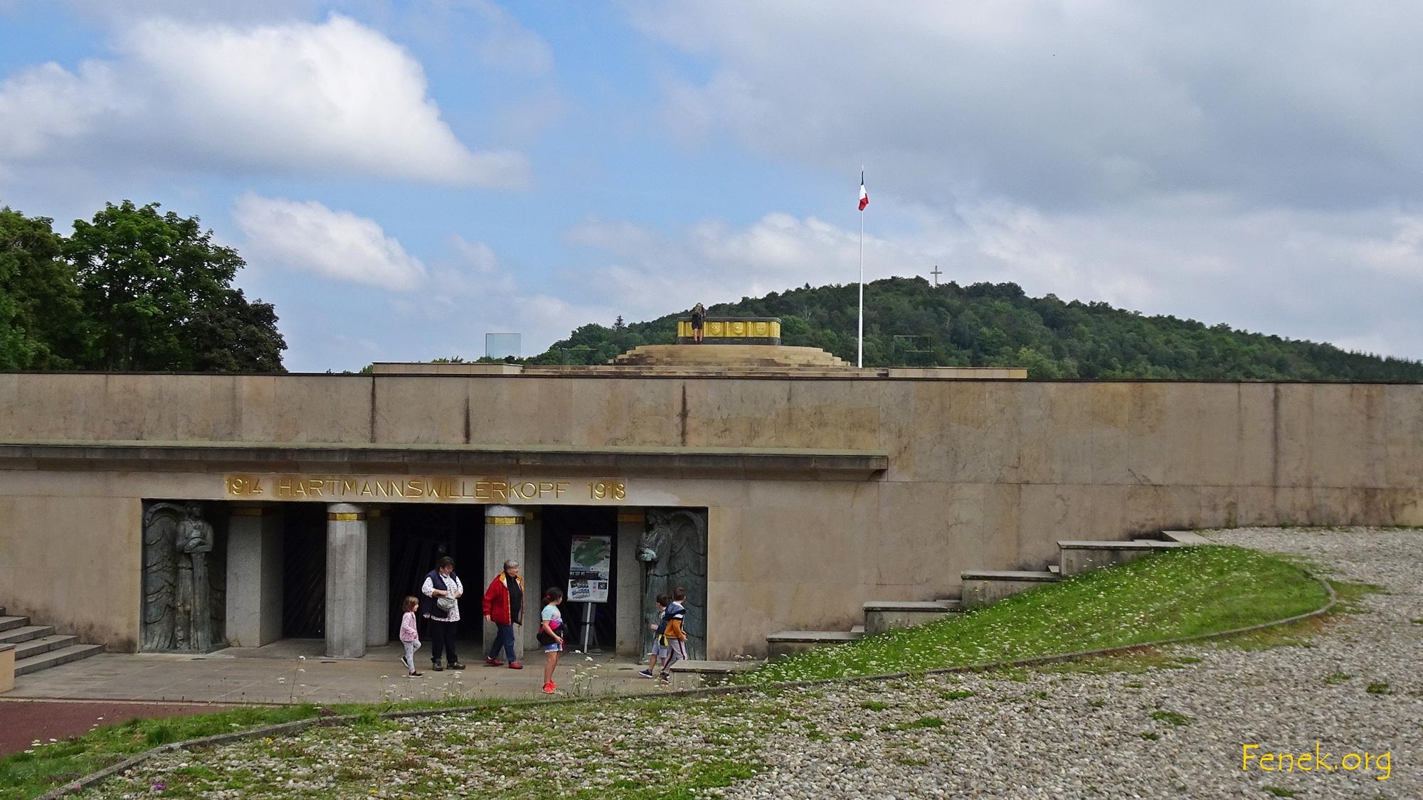 Gedenkstätte eines Schlachtfeldes vom 1. Weltkrieg