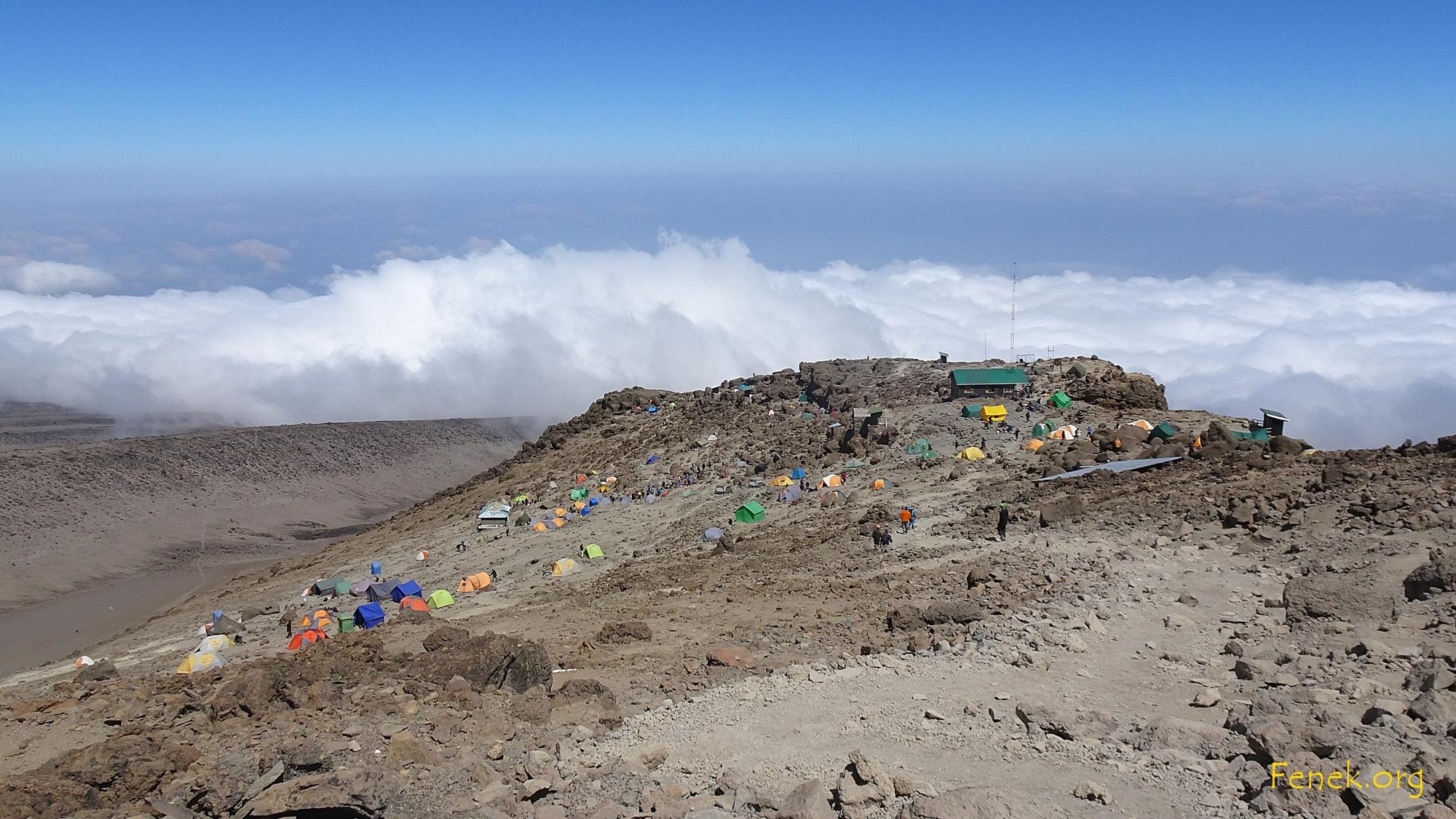 Camp auf 4'800m