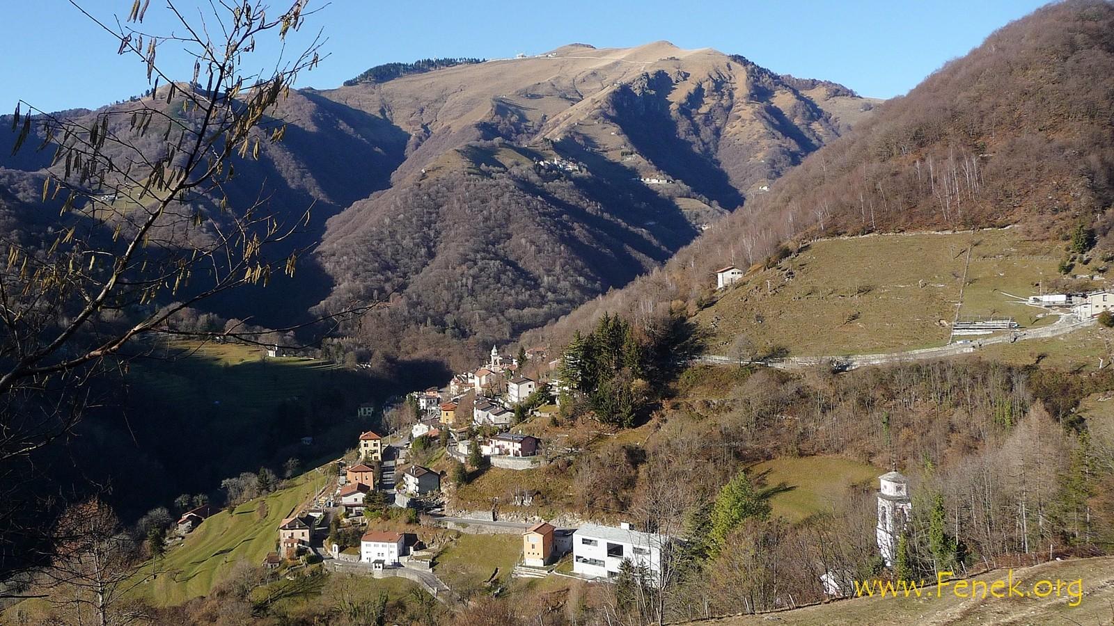 Muggio und Monte Generoso