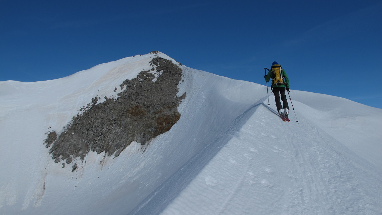 ganz nahe am Gipfel...