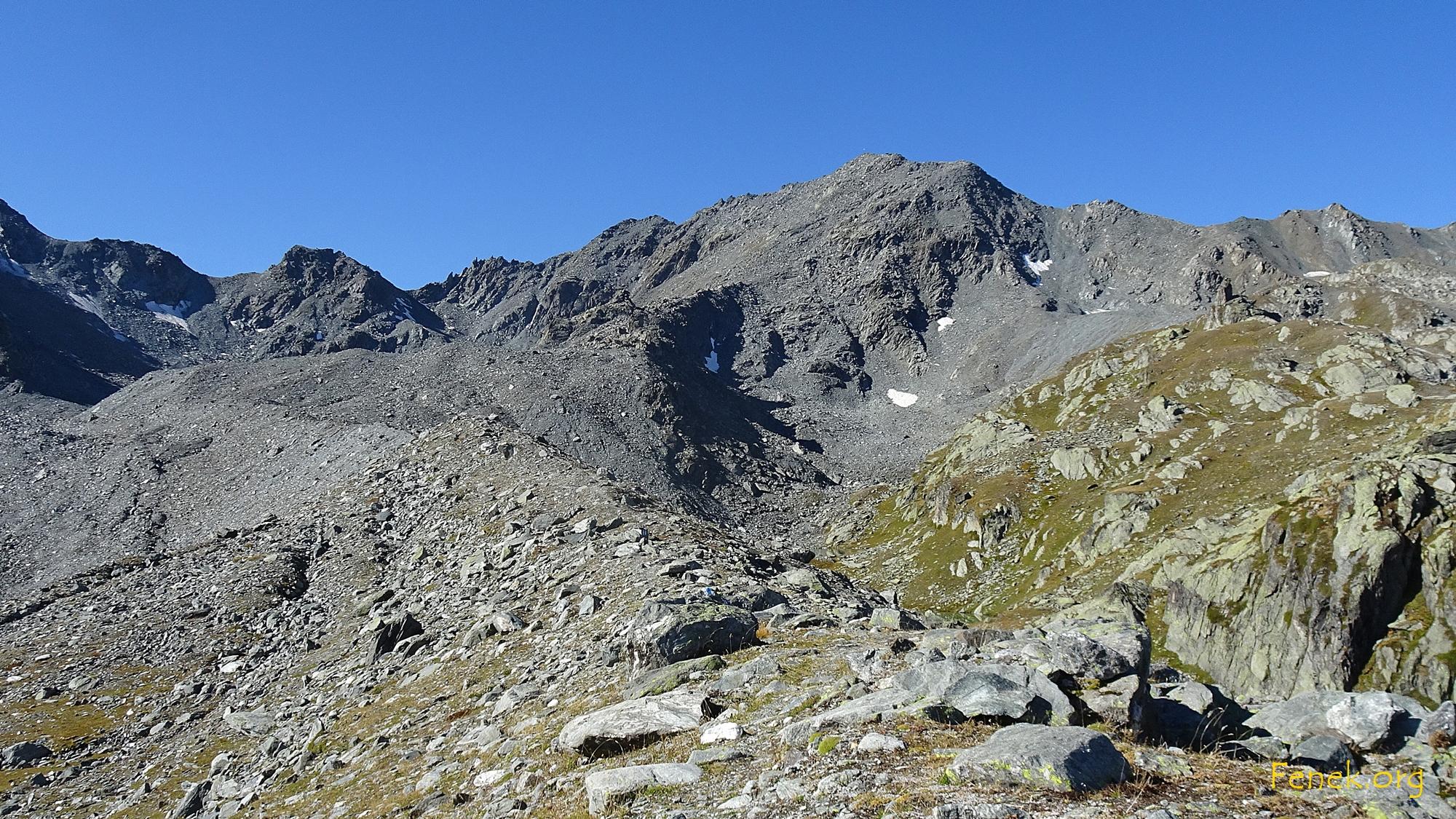 Pointe de Boveire - mein Ziel