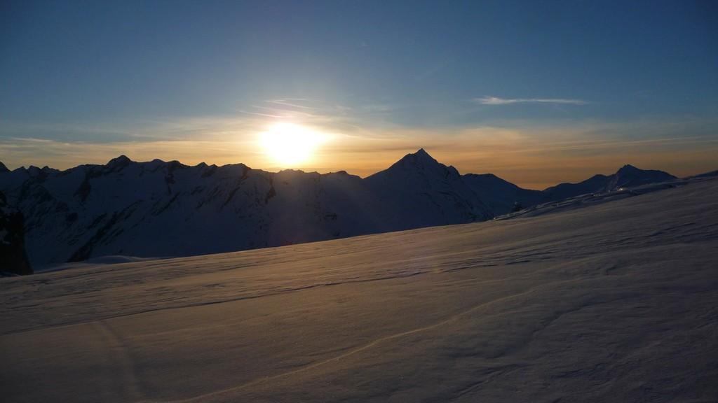 Bergsteigertraum..... Morgensonne