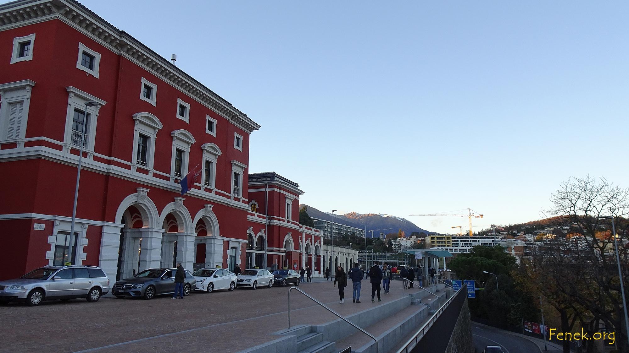 Bahnhofsgebäude von Lugano