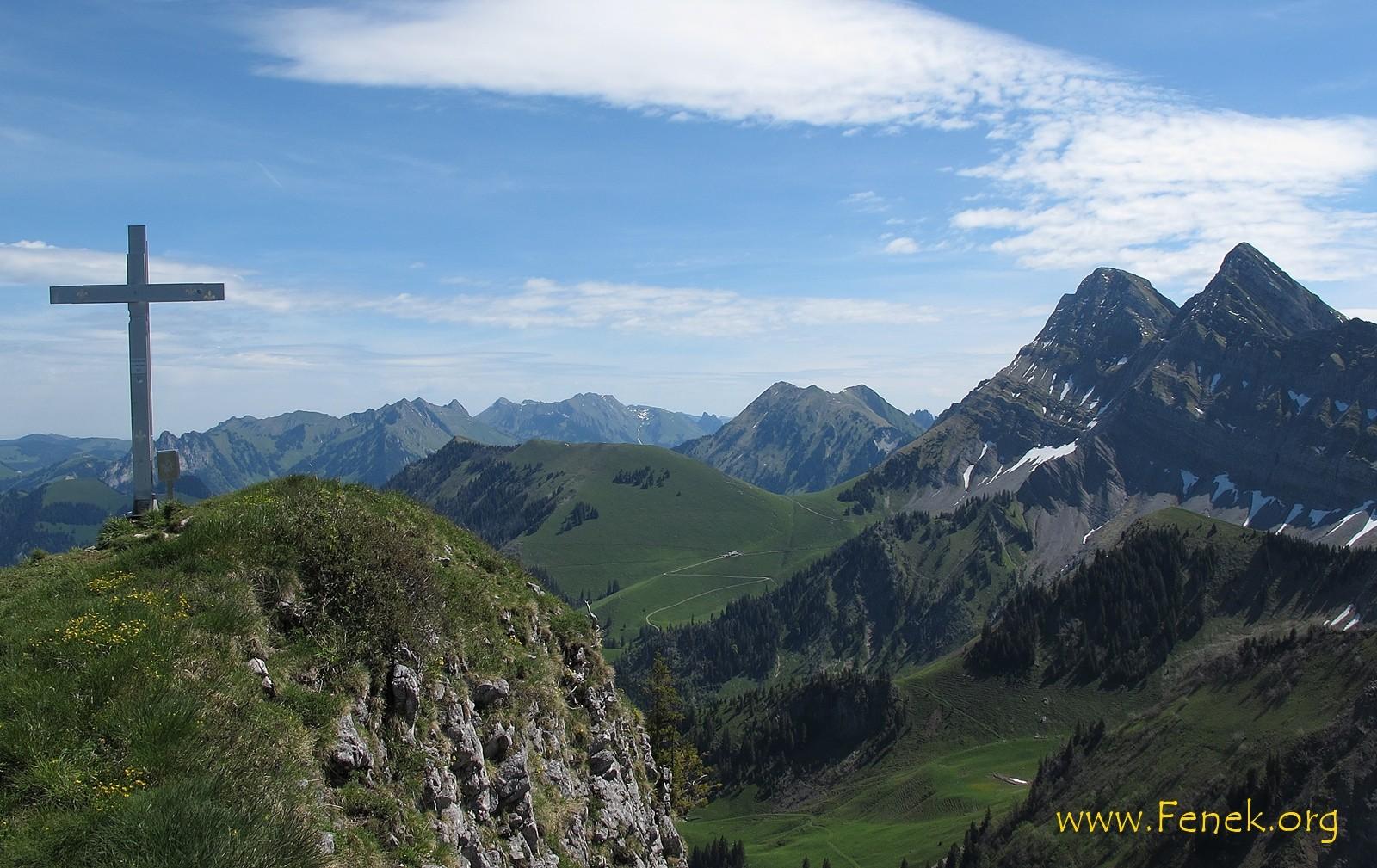Gipfel Le Van