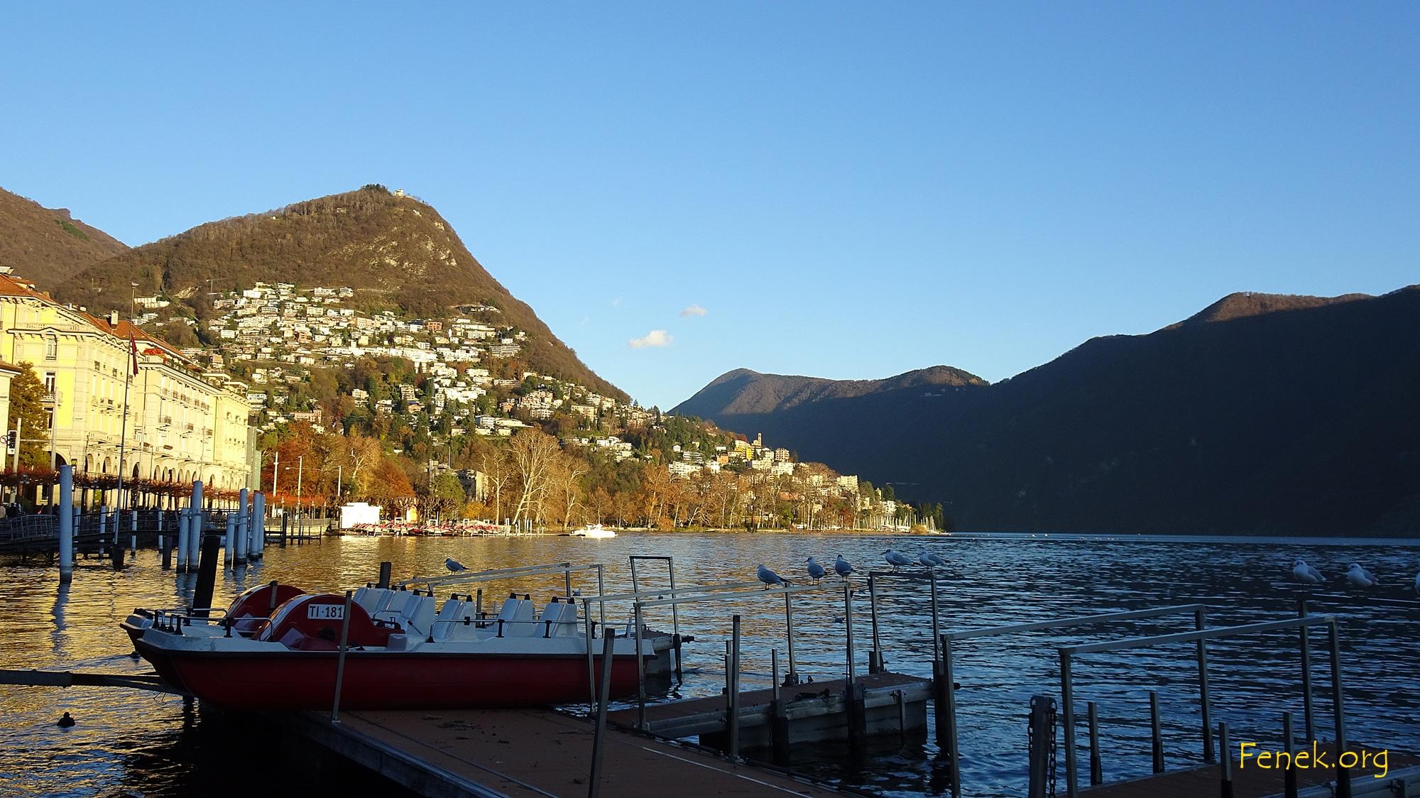 Abendlicht in Lugano