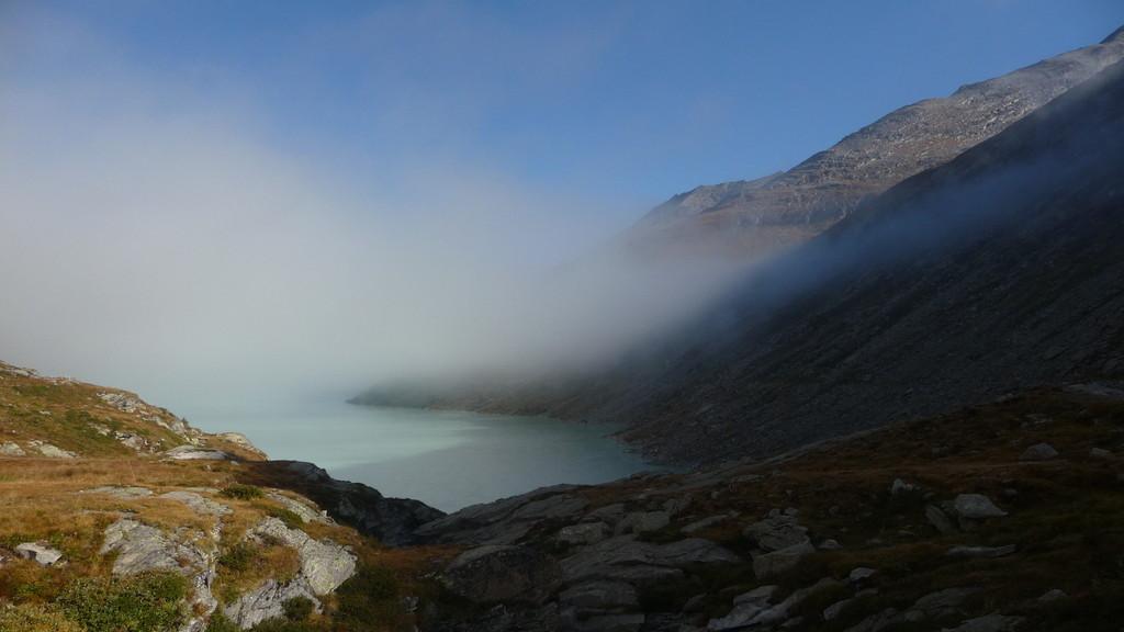 der Nebel lichtet sich......
