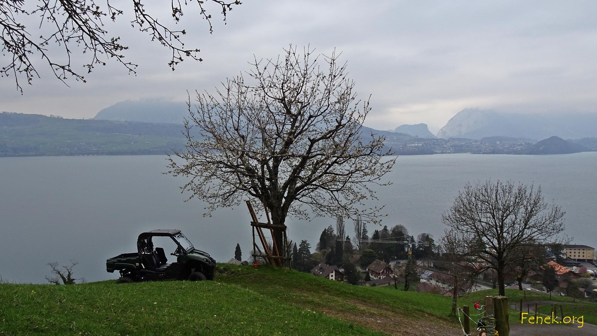 wolkig und frisch im Berner Oberland