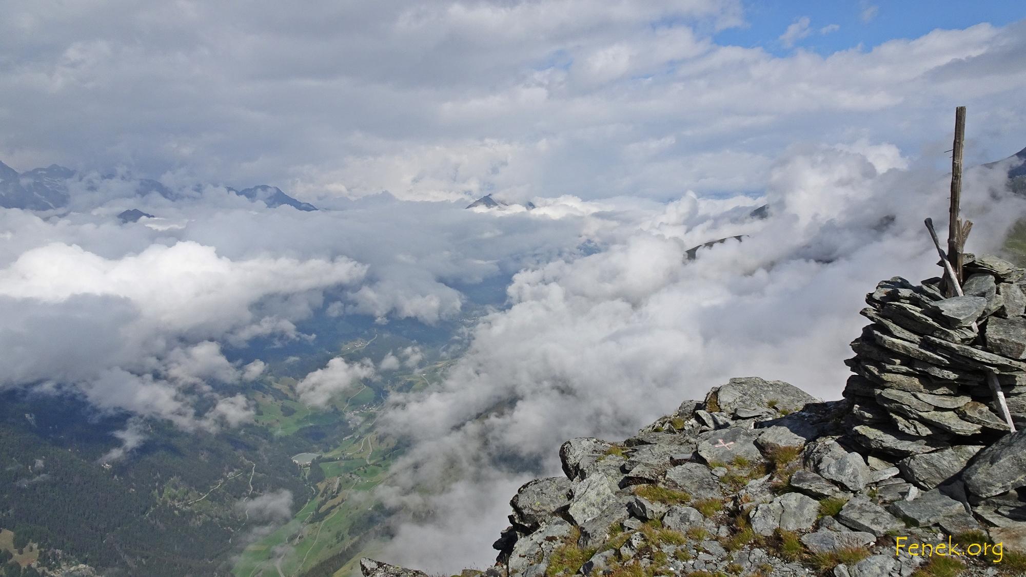 Blick ins Val d'Entremont
