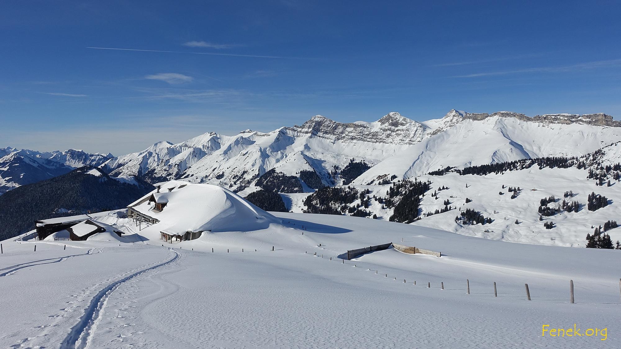 die Kette beinhaltet den höchsten Freiburger Vanil Noir und andere wunderbare Freiburger Gipfel