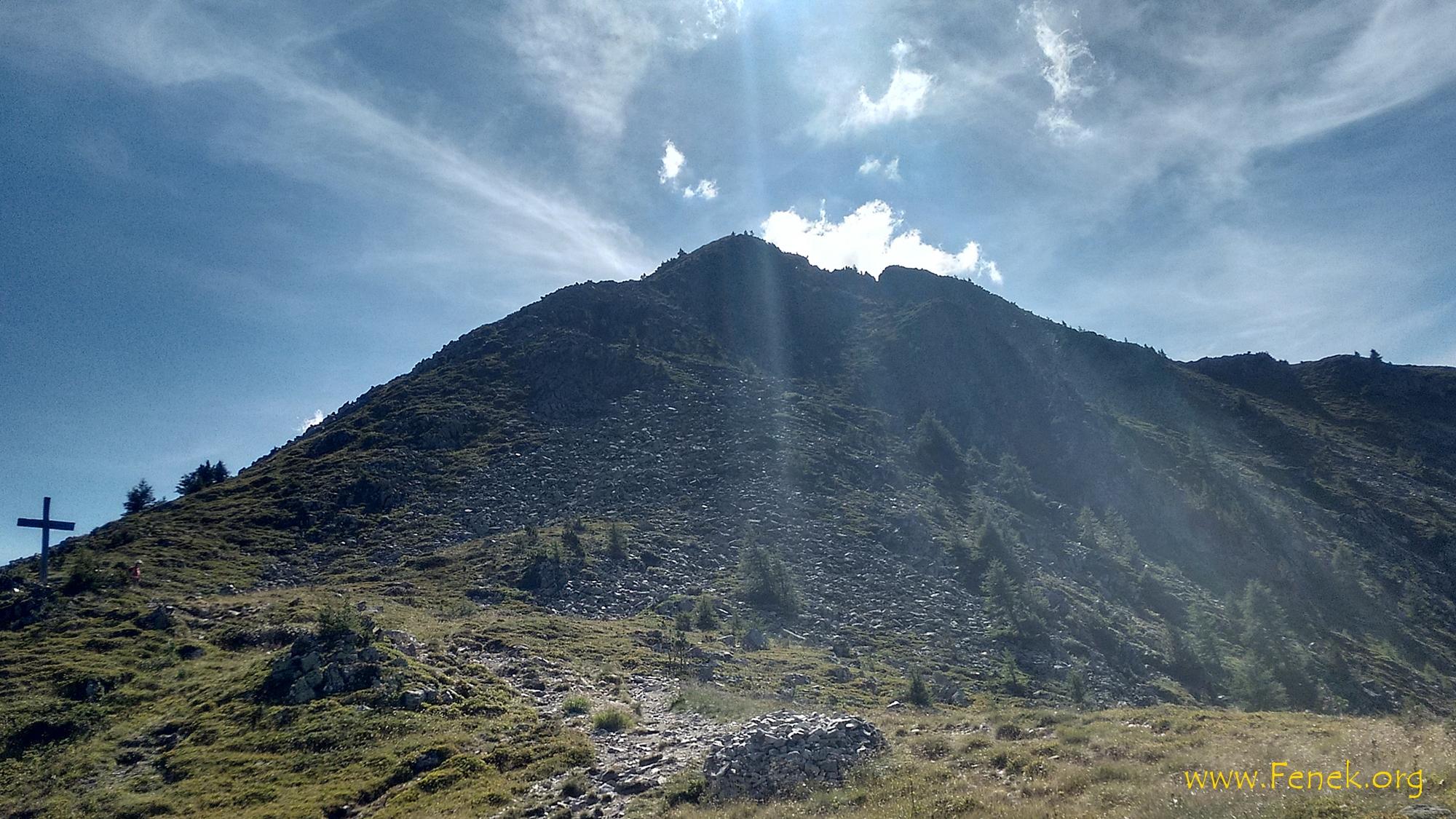 La Breya - erster Gipfel des Tages