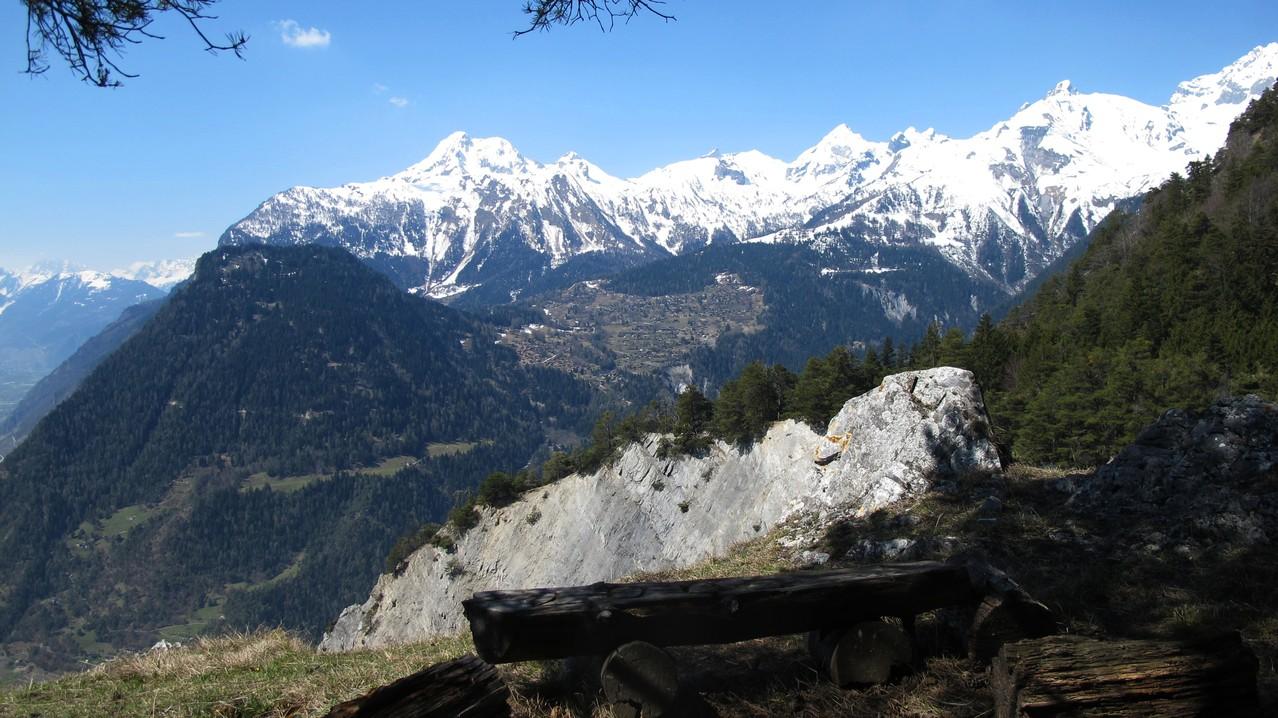 Aussicht von La Routia