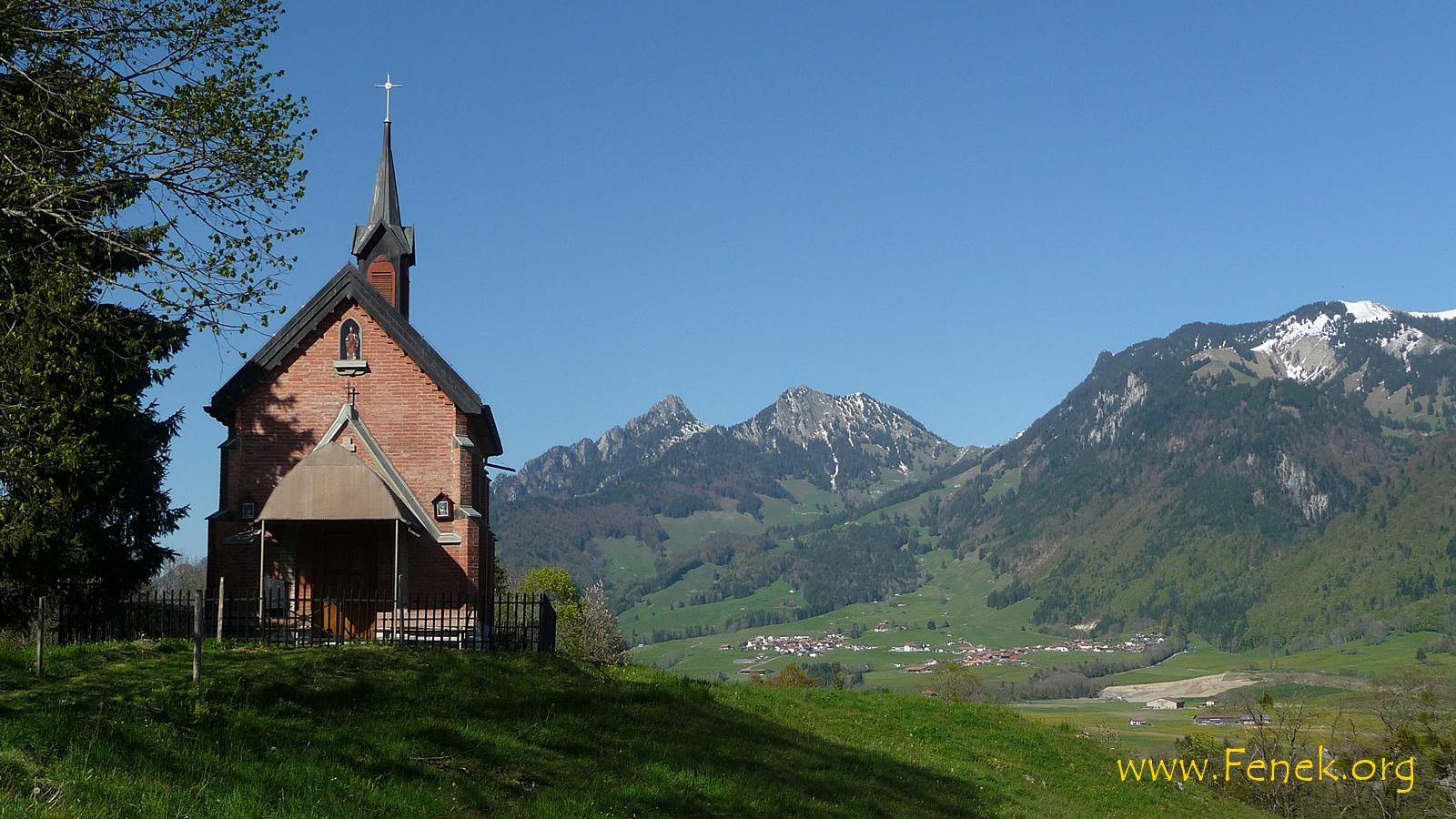 Kapelle bei Villars-sous-Mont