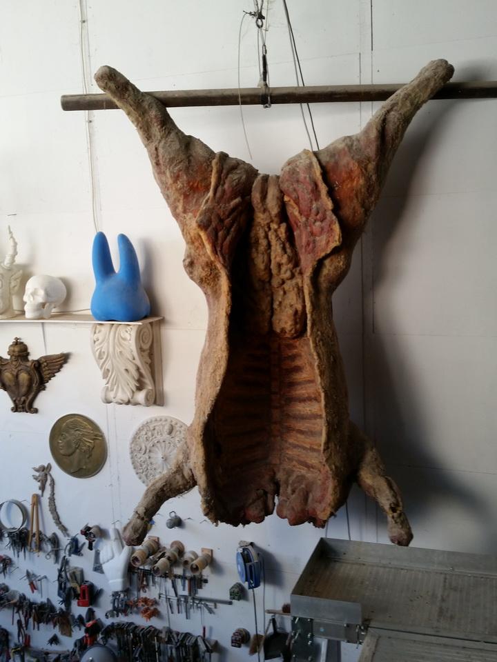 geschlachteter Ochse, Spielfilm Rembrandt