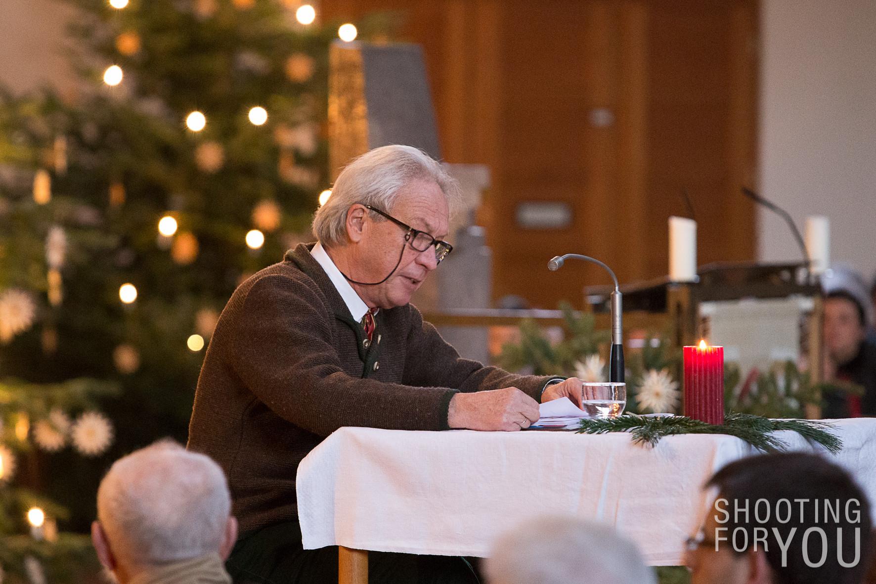 Gerhard Gentner der Erzähler