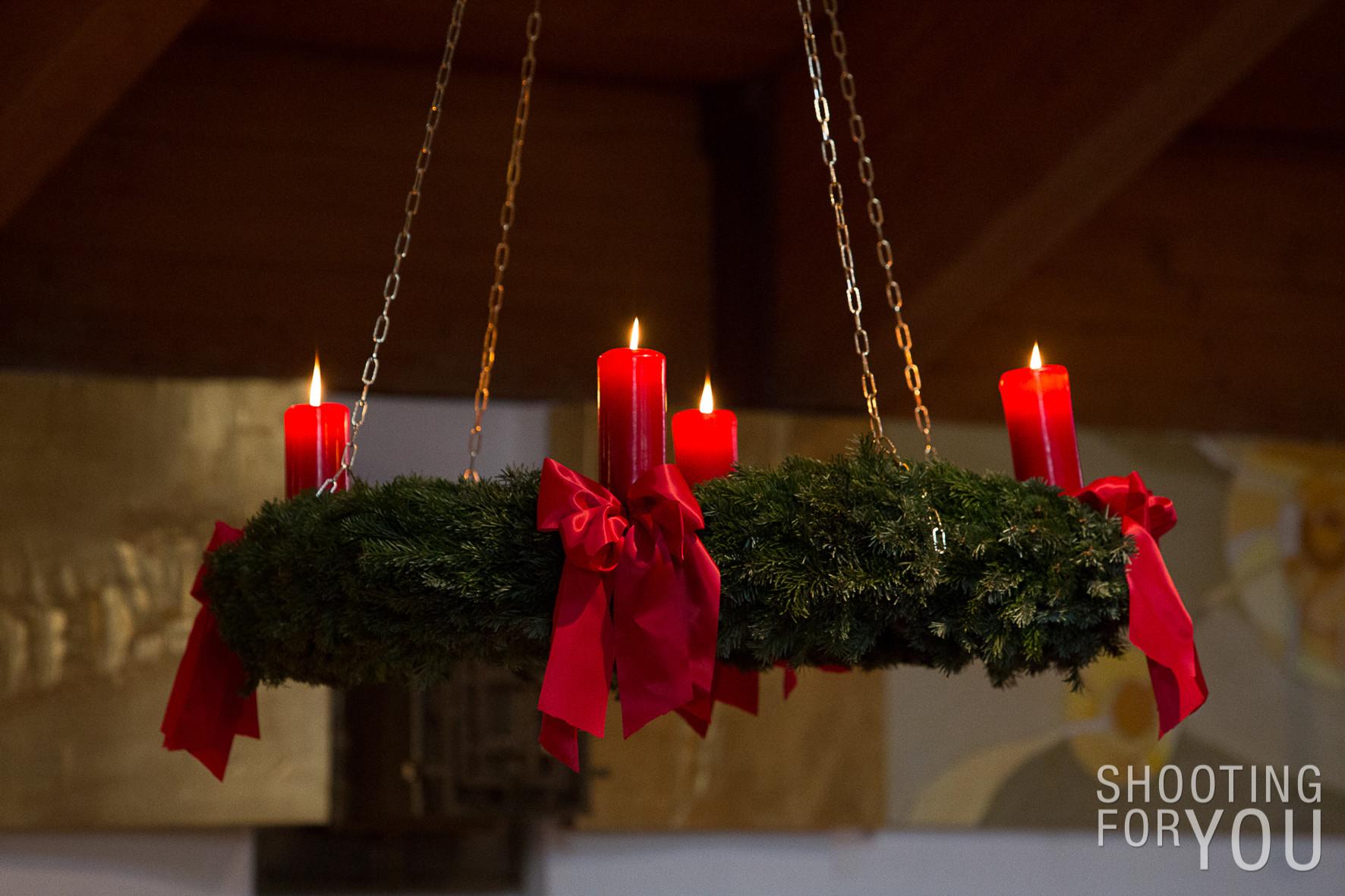 4. Advent in der Kirche St. Raphael in Steppach