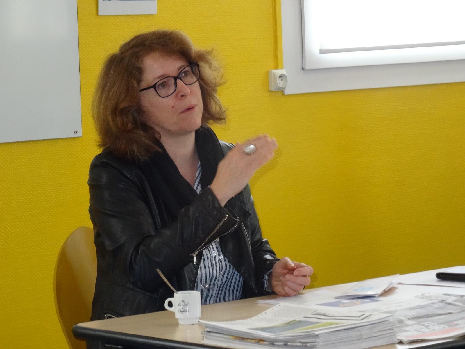Armelle Fernandez, intervenante