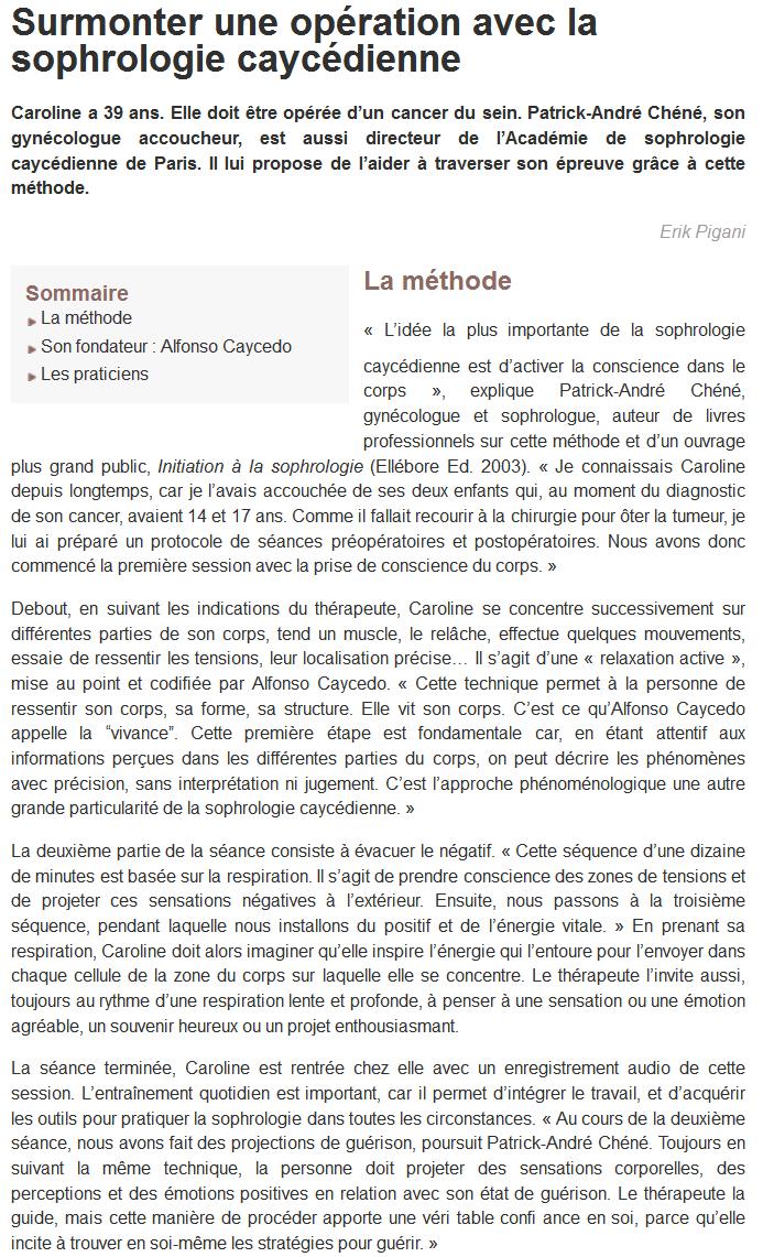 Ecole de Sophrologie de Liège - Belgique