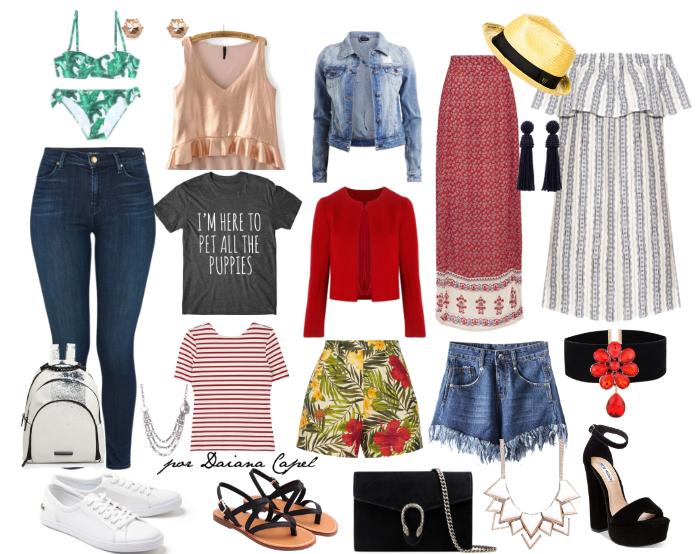 Daiana Capel Asesora Asesoria Asesoramiento Imagen Zárate  consejos de moda estilo imagen como armar un valija de viaje