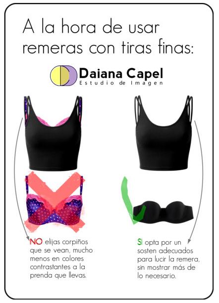 Daiana Capel Asesora Asesoria Asesoramiento Imagen Zárate  consejos de moda estilo imagen talleres ropa interior corpiño