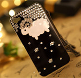 diy phone cases Diamond Little sheep