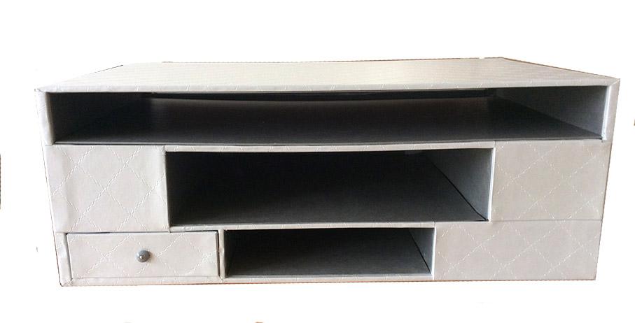 Meuble rangement box télévision dos