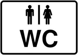WC vorhanden