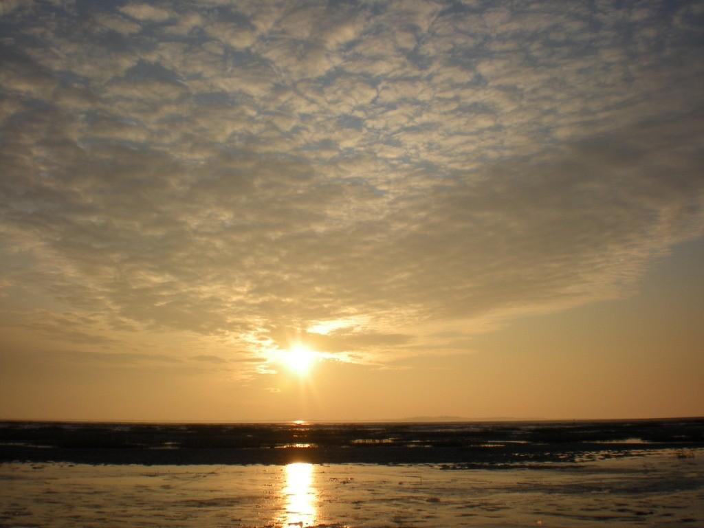 Les nuées arrivent sur la baie de Somme: Bientôt la neige?