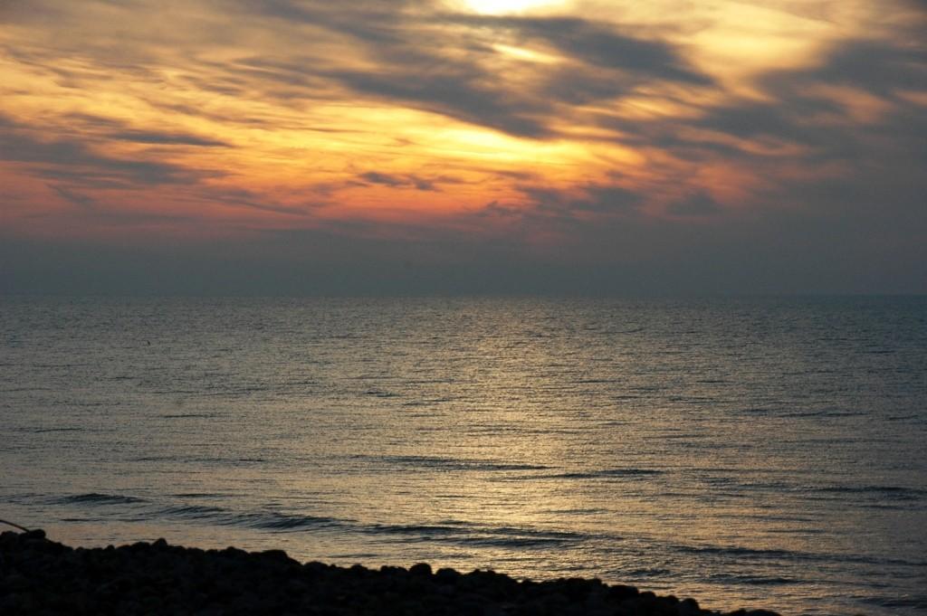 soleil hivernal en baie de Somme