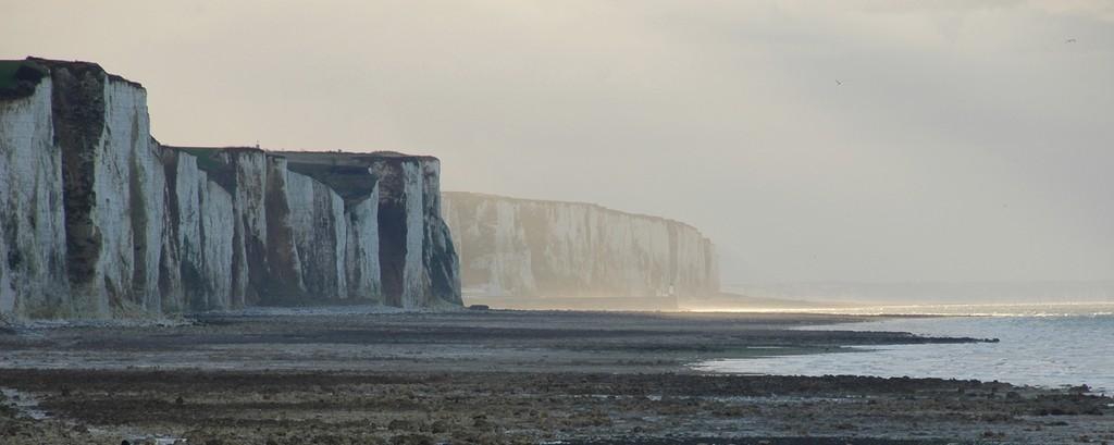Variations de lumière sur les falaises d'Ault 1