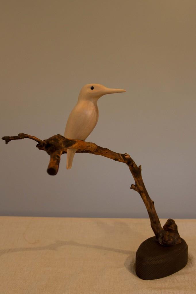 oiseau de bois: Martin pecheur tilleul