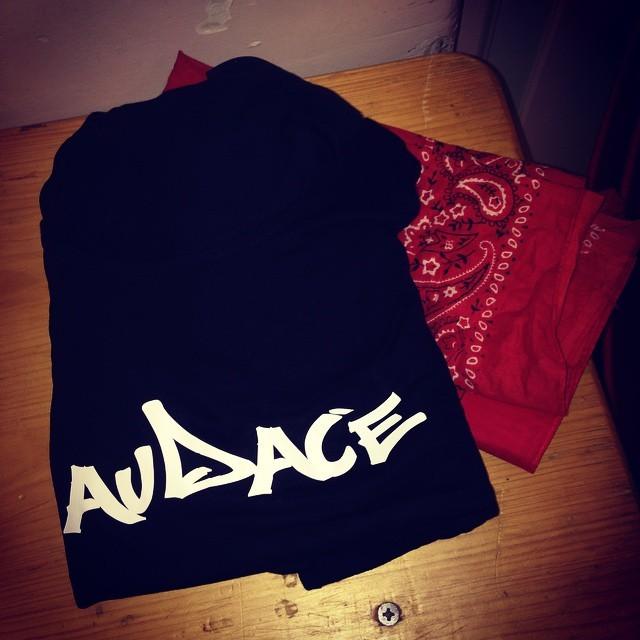 Flocage AUDACE pour U.vibes, Danseuses RaggaDancehall.