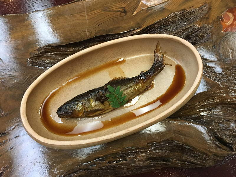 鮎の有馬煮