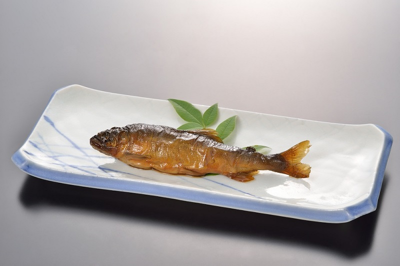 鮎の甘露煮
