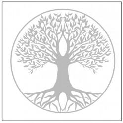 """Glasgravur """"Lebensbaum"""""""