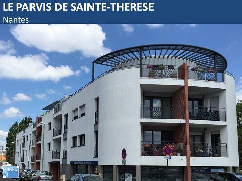 Le parvis de Sainte-Thérèse