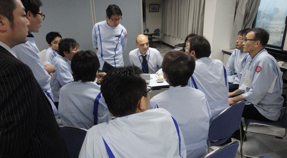 JAPAN 2013 TOKYO-OSAKA Lectures/Courses