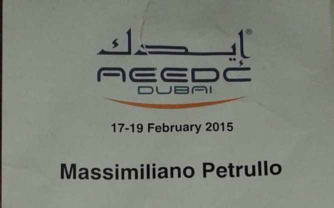 MIDDLE EAST 2015 DUBAI International meeting