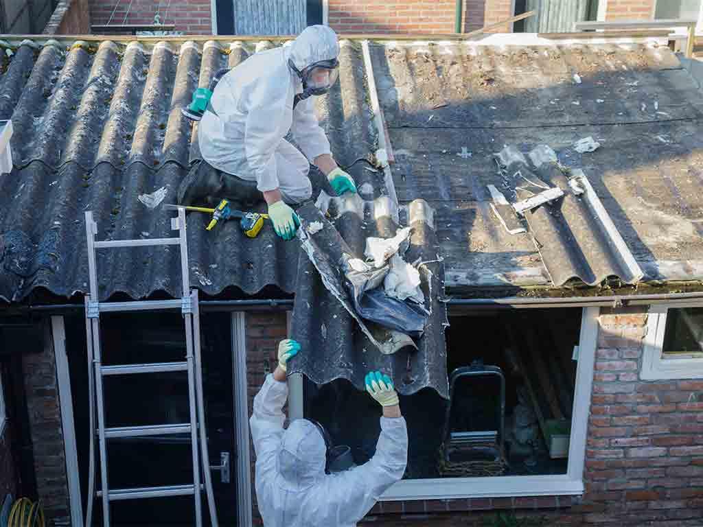 Asbest Entsorgung
