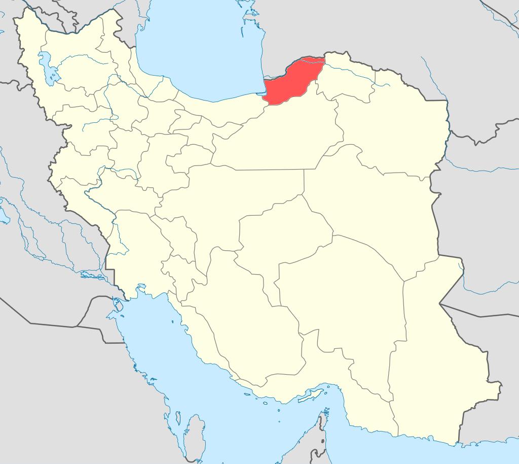 Province Golestan (Gorgan)