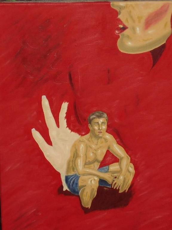 The Expectation,35 x 50 cm oil, canvas